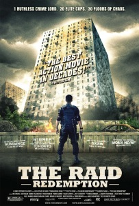 The Raid Redemption Movie Poster